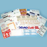 Hang Tag, Airlines Label and Tickets